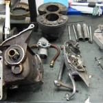 TR6 1971 Motorteile 3