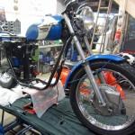 TR6 1971 Rahmen 6